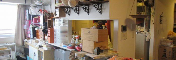【Q37】収納の少ない狭いマンション暮らし。物があふれて困っています。