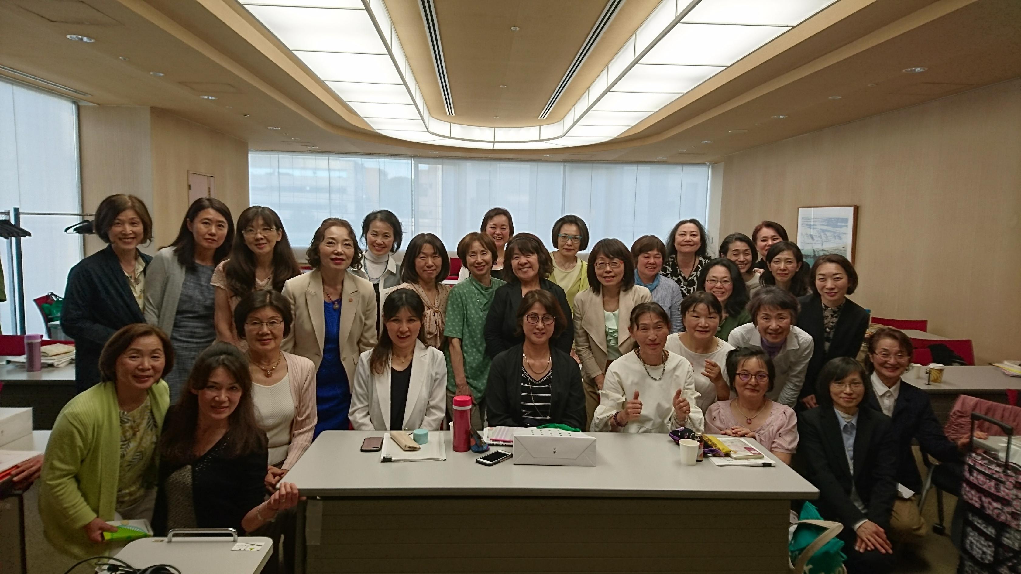 名古屋・片づけ掃除アドバイザー認定講座28名様ご受講ありがとうございました。